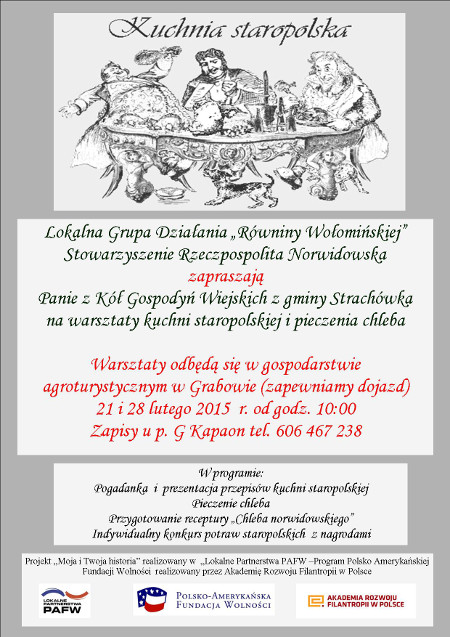 Warsztaty Kuchni Staropolskiej I Pieczenia Chleba 21 I 28