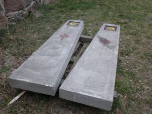 Słupy betonowe do projektu PRESTIGE