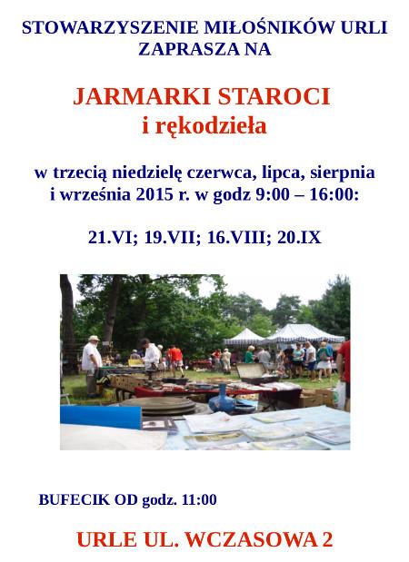 plakat Jarmarki 2015