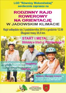 Rajd rowerowy LGD 3 10 2015