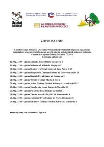 Zaproszenie do programu DL IX 2016