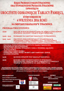 Plakat Strachówka 2016