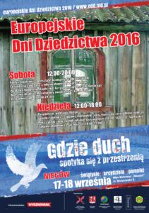 Europejskie dni dziedzictwa 2016