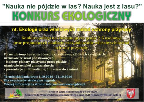 konkur-ekologiczny-lgd-plakat